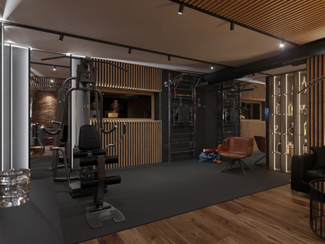 Gym in private house​​​​​​​