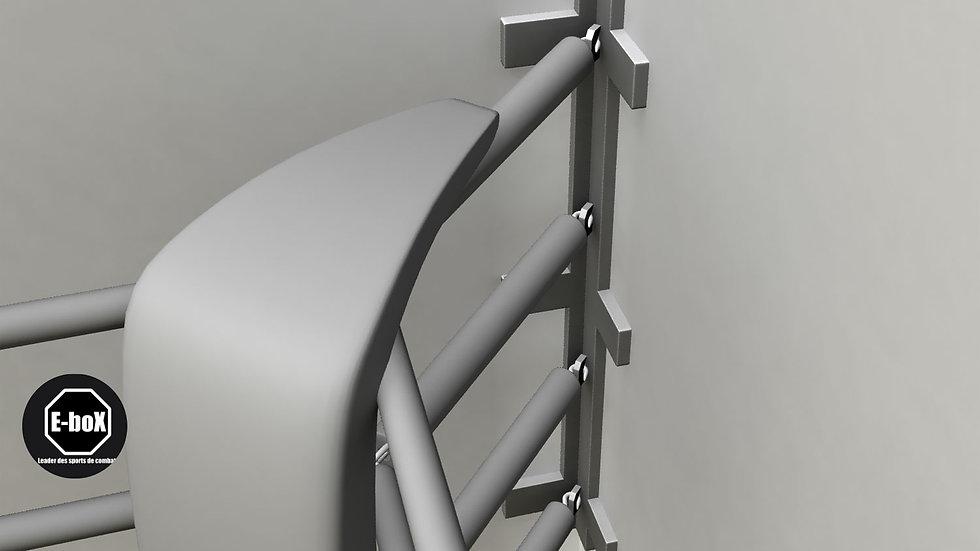 Support d'angle pour cordes de ring