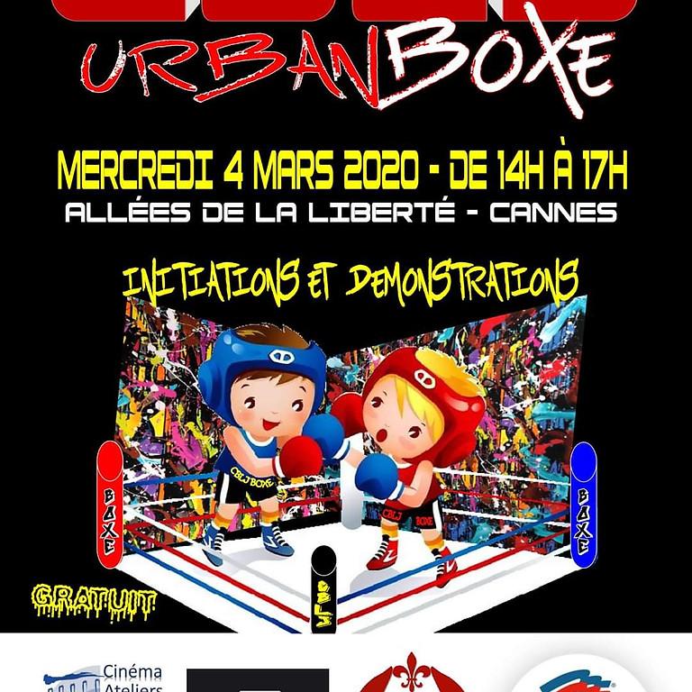Urban Boxe Pour la semaine de la culture cannoise