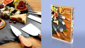 Pakkaus juustoveitset
