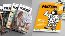 Pakkaus lehti uudistaminen