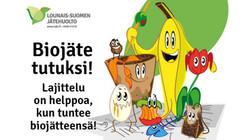 Länsi-Suomen Jätehuolto Biojäte kampanja