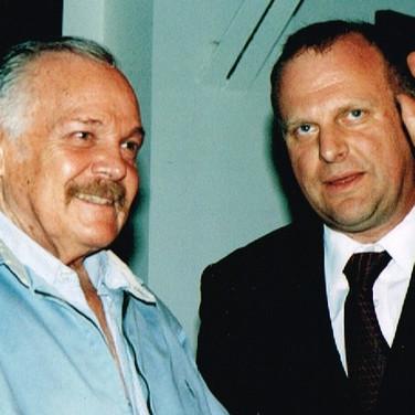 Gregorio Luke y José Luis Cuevas
