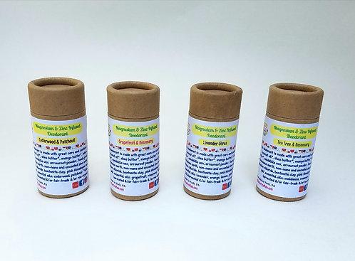 Trial-Sized Magnesium & Zinc-Infused Deodorant