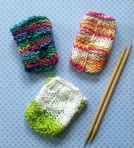 Hand Knitted Bar Soap Holder