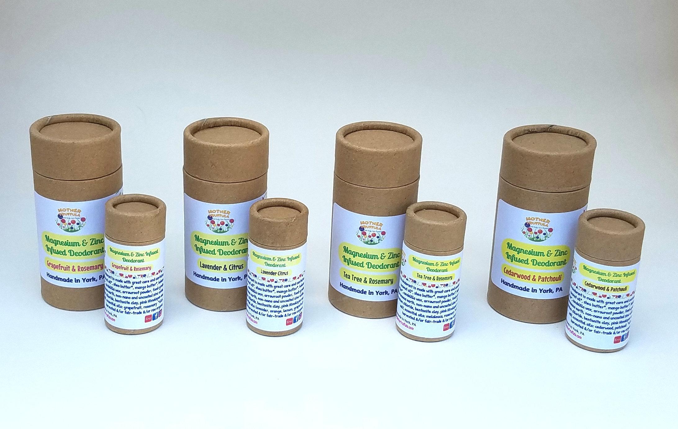 Magnesium & Zinc Infused Deodorant | bodycare