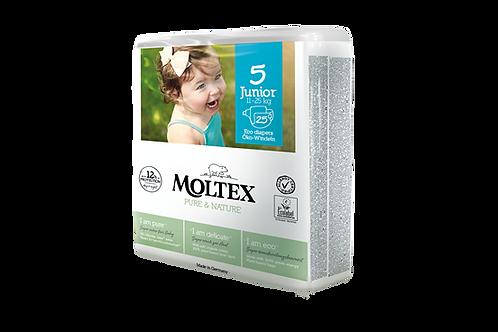 Moltex Pure and Nature ÖKO pelenka, Junior 5 -ös