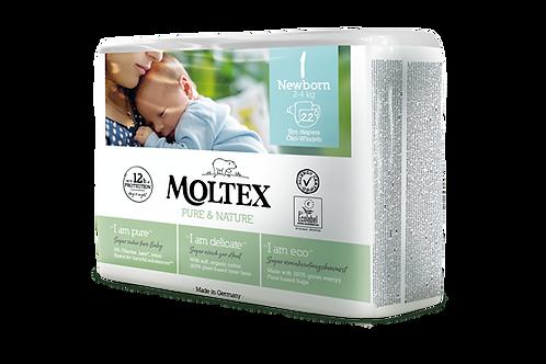 Moltex Pure and Nature ÖKO pelenka, Újszülött 1-es