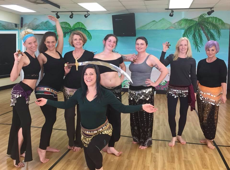Intro to Bellydance, Saturdays @ 2!