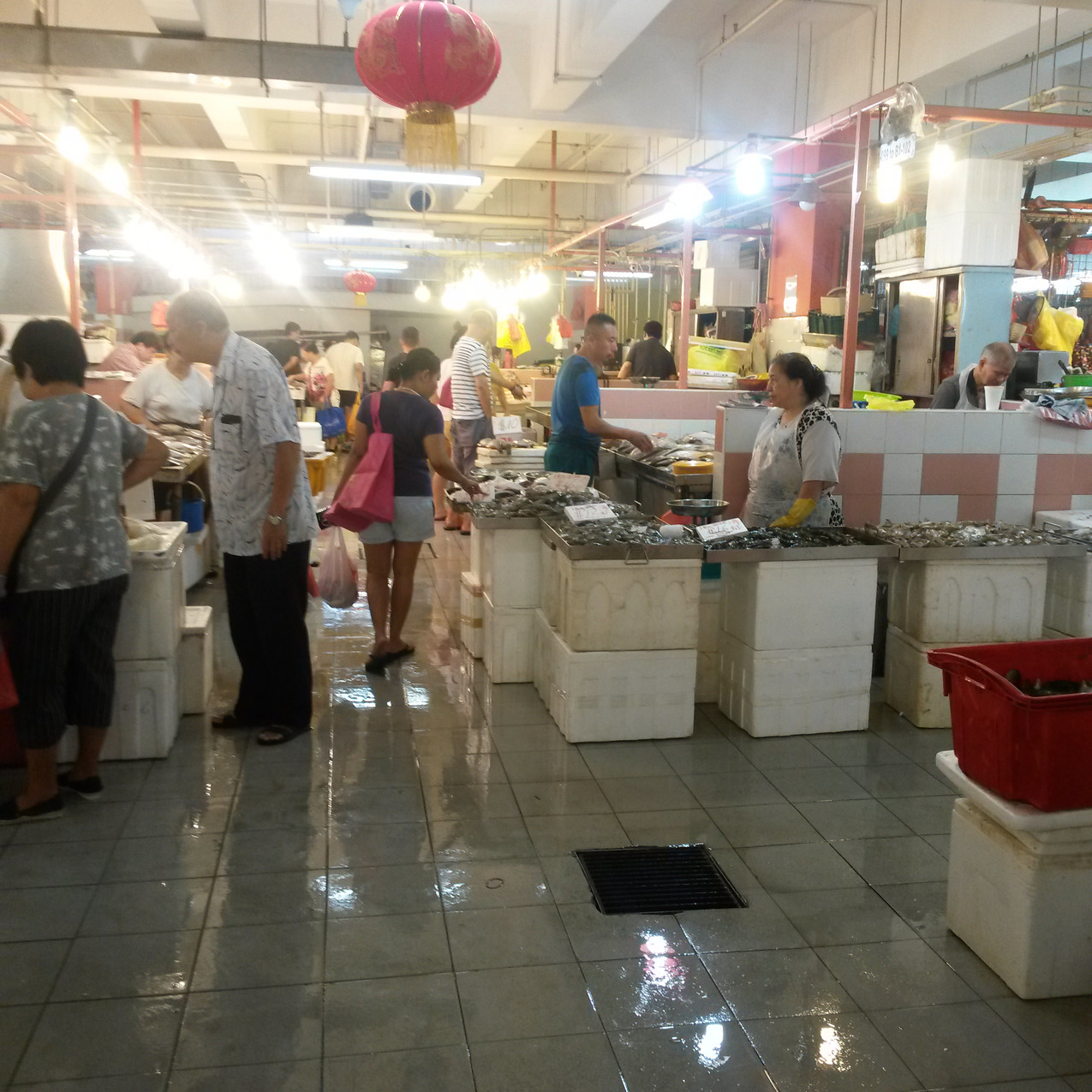 Chinatown wet market, Singapore