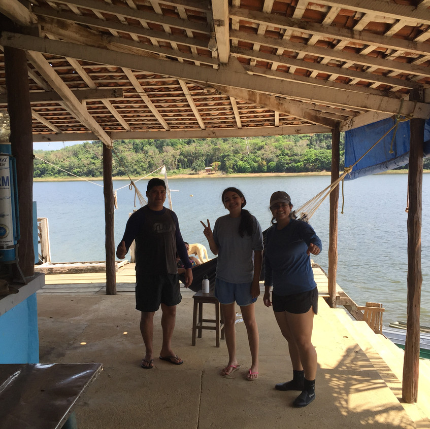 Research station on Lago do Tocantins