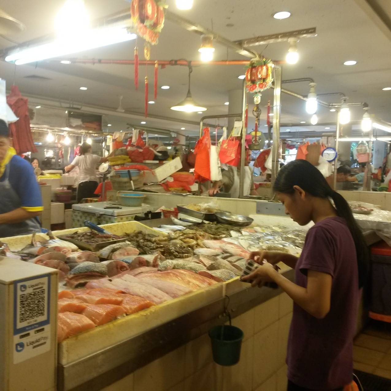 Tiong Bahru wet market, Singapore