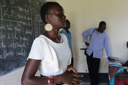 Classroom debate on tribal conflict