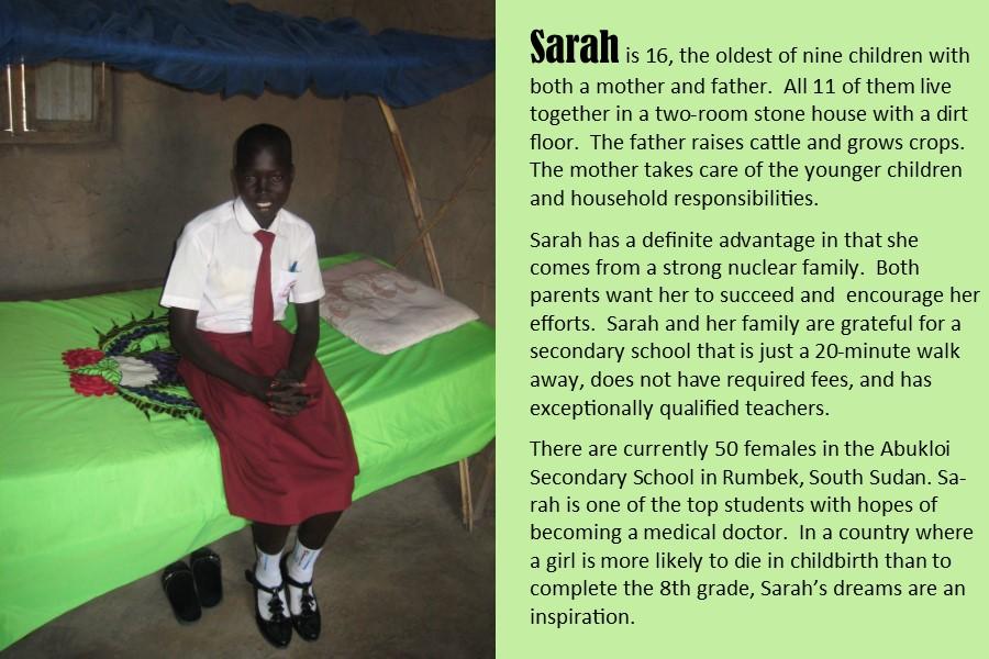 Student Sarah