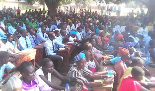 Rumbek community gathers for debate on women's rights