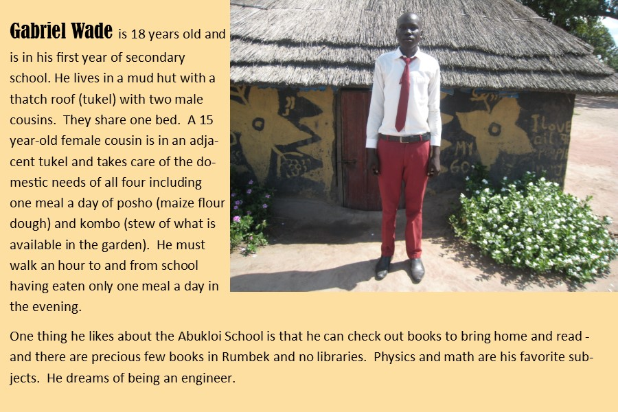 Student Gabriel