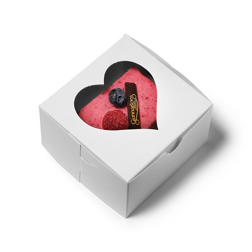 Heart Boxes 4x4x2.5 [Pack of 50]