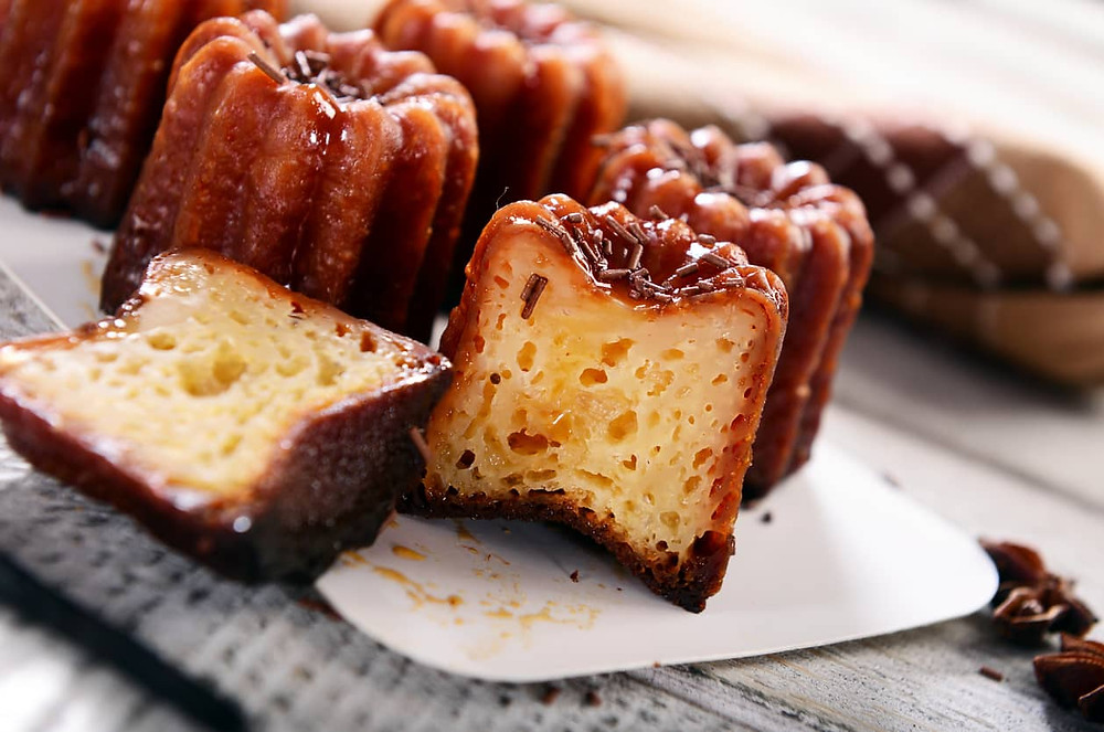 list of French baked goods