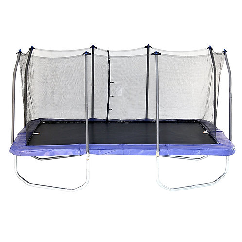 Skywalker 15-Foot Rectangle Trampoline with Enclosure