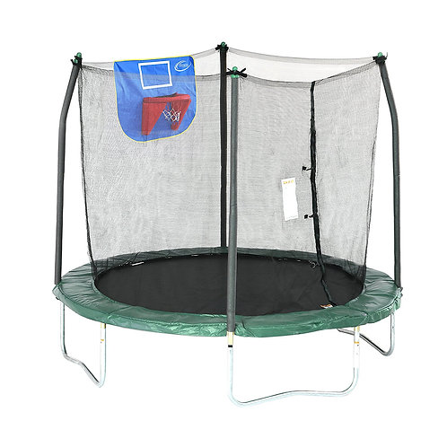 SKYWALKER JUMP N' DUNK 8-FOOT TRAMPOLINE