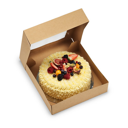 Bakery Boxes 10x10x2.5 (Pack of 25 or 50)