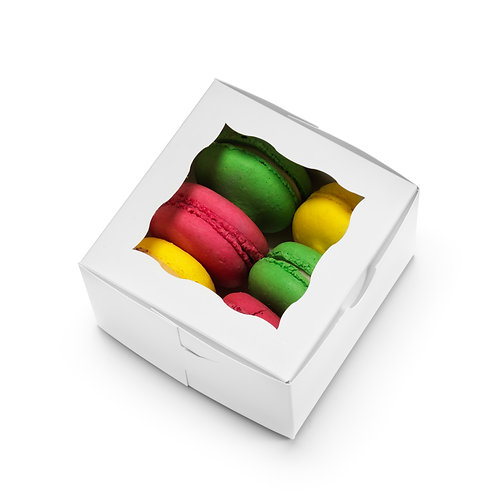 Cuisiner Bakery Boxes 4x4x2.5 [Pack of 50]