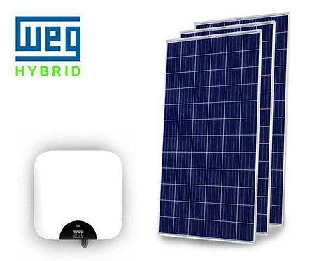 KIT SOLAR WEG (10.88KWp) INSTALADO! (Energia suficiente para contas até R$1.300