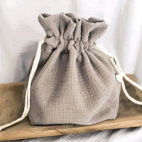 Corbeille à pain en gaze de coton personnalisable
