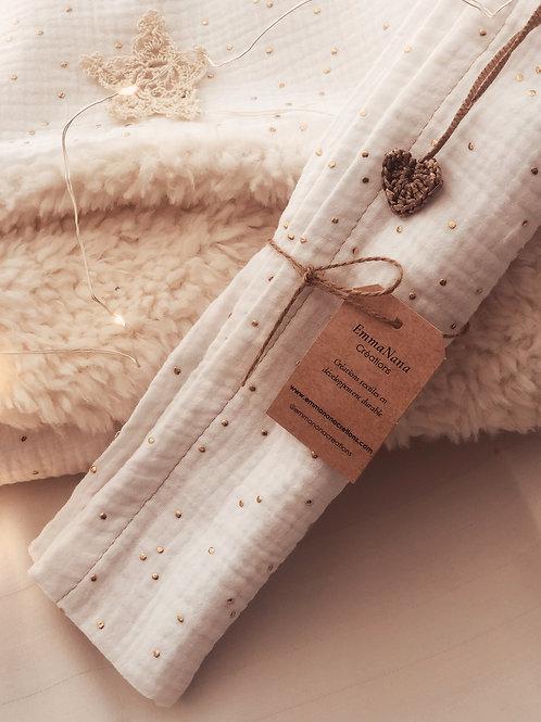 Lange  gaze de coton personnalisable