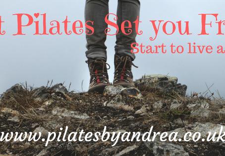 Let Pilates set you free...........