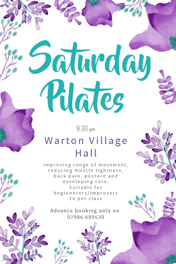 A rare opportunity has arisen to join out lovely Saturday morning class.  The class is aimed at the beginner to improver.  If you would like more details please drop me a line.  Classes are advance book only due to allocation of equipment.