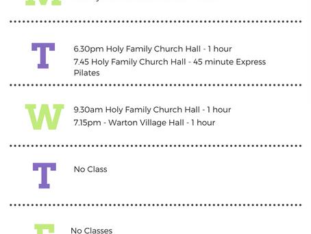 Pilates Planner - download