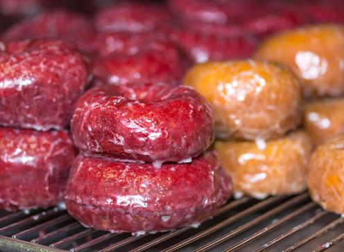 Doughboys Donuts red velvet