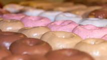 Doughboys Donuts chocolate caramel cherry