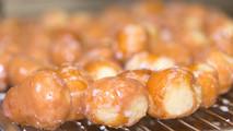 Doughboys Donuts glazed donut seeds
