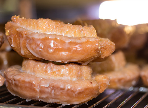 Doughboys Donuts old fashion glazed