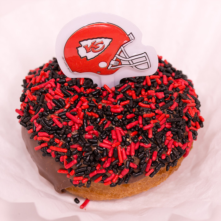 Doughboys Donuts BYOD KC Chiefs themed
