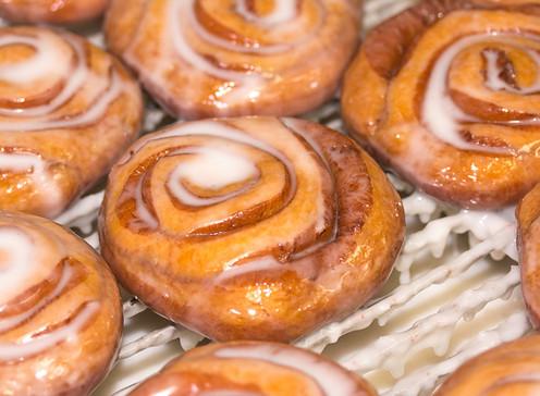 Doughboys Donuts iced cinnamon rolls