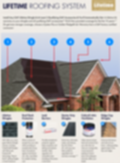 LIFETIME ROOFING SYSTEM