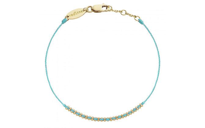 Redline 18ct gold and diamond 'Eclipse' thread bracelet (Tahiti)
