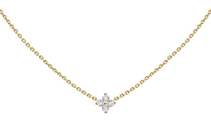 Redline 18ct gold and diamond chain necklace