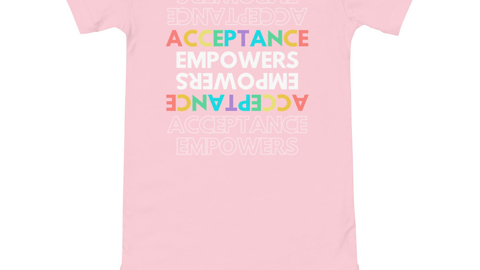 Acceptance Empowers Acceptance