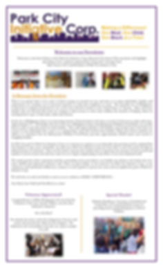 PCI Newsletter page 1 constant contact.j
