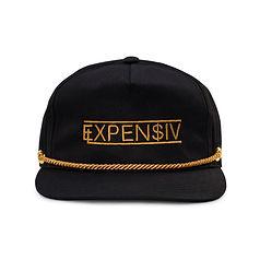 Expensiv-Lifestyle-snapback-black-front.