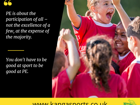 What was your experience of PE when you were at school?