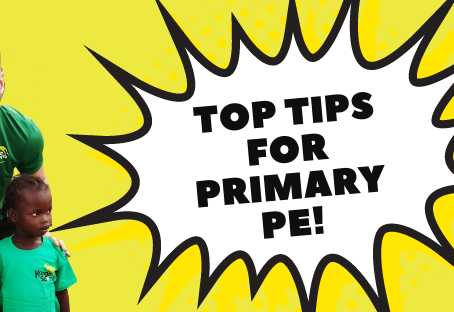 Join us on social media for TOP TIPS FOR PRIMARY PE