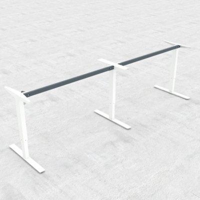שולחן משרדי מתכוונן ארוך 501-47