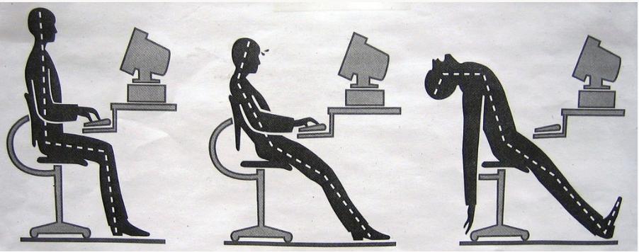 כיסא ישיבה ממושכת