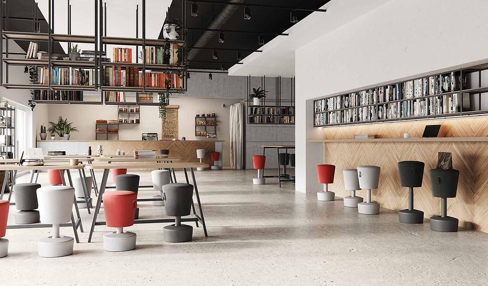 עיצוב ארגונומי, כיסאות איזון מעוצבים, כיסא מעוצב