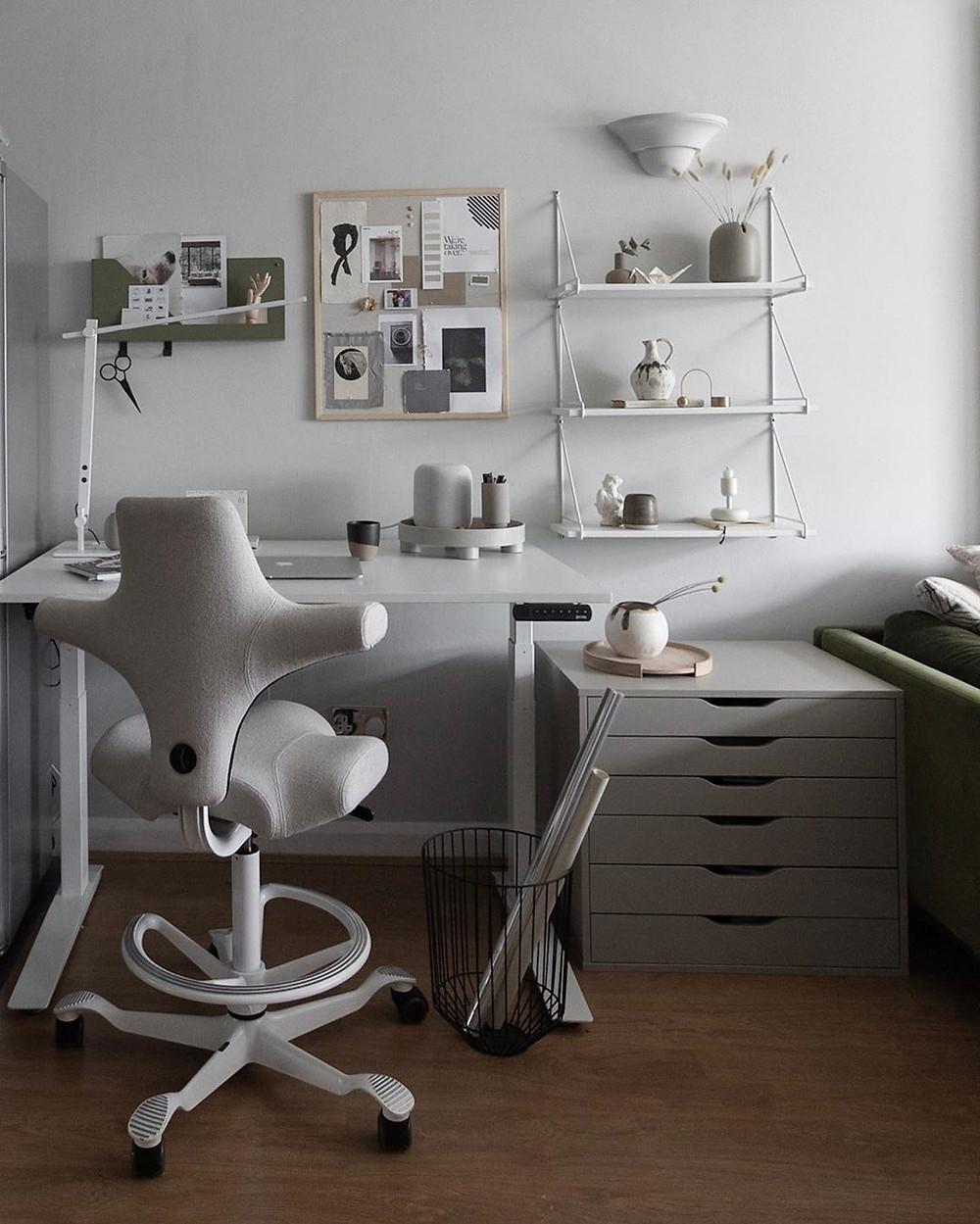 שולחן חשמלי, כיסא ארגונומי